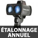 Étalonnage annuel et Vérification Prolaser 4